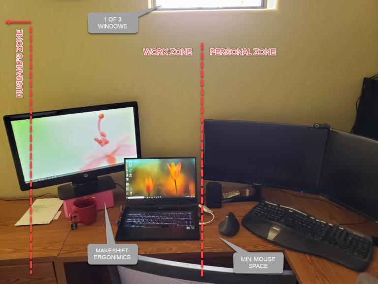 - 2020 03 25 768x577 - COVID-19 Quarantine, Designer Desk Diaries: Day 014